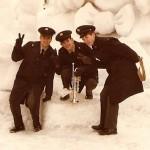 Army Band gig Sapporo Ice Festival 1980